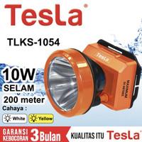 Senter Kepala Selam Tesla 10 Watt TLKS 1054 - Cahaya Putih/ Kuning
