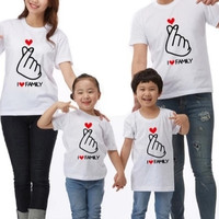 Couple keluarga sehati/T Shirt Cuople/Cotton Combed 30s