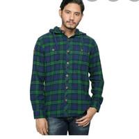 kemeja kaos baju jaket hoodie kupluk eiger milestone rf flanel flannel