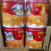 Khong Guan biskuit kaleng 650 gr MURAH