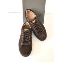 Bally Original-Sepatu Bally Sneakers Unisex Brown