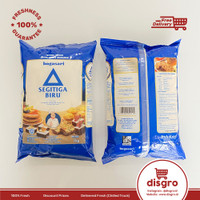 Bogasari Tepung Segitiga Biru 1kg tepung terigu protein sedang 1 kg