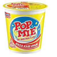 POP MIE Rasa Kari Ayam Jumbo 75gr