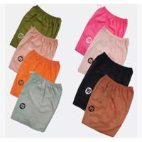 [Lusinan] Celana Pendek Santai - Rumahan - Banyak Warna