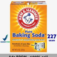 BAKING SODA MERK Arm & Hammer Baking Soda 227 GR