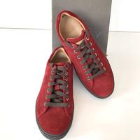 Bally Original-Sepatu Bally Sneakers Red