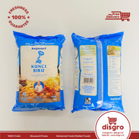 Bogasari Tepung Terigu Kunci Biru 1kg terigu protein rendah 1 kg