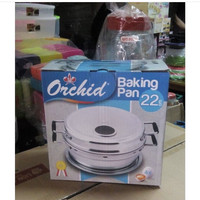 Backing Pan orchid 22 cm