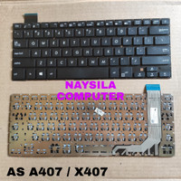 Keyboard ASUS Vivobook 14 A407 A407ma a407uf X407 X407ma X407u X407ub