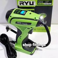 Pompa Angin Ban Mobil Portable Digital Pump Air Compressor 12 volt RYU