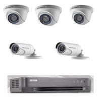Paket Hikvision 5 kamera CCTV 1080P 2 MP full set + HDD 1TB