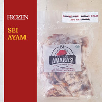Sei Ayam Daging Asap Khas Kupang Frozen 250 gram