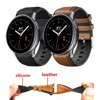 STRAP WATCH TALI JAM LEATHER KULIT RUBBER SAMSUNG GALAXY ACTIVE 1 2
