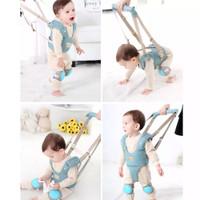Baby Walker Harness safety | alat bantu bayi belajar jalan - Biru Muda, 9-24bulan