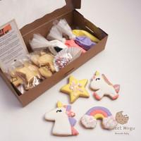 DIY Cookie Kit Unicorn / Cookies Hias