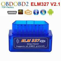 ELM327 mini V2.1 OBD2 Scan Mobil Android Bluetooth Automotive test