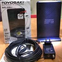ANTENA TV DIGITAL TOYOSAKI AIO 235 / ANTENA INDOOR N OUTDOOR