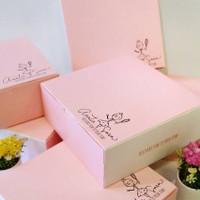 Box for cheese cake, lapis legit, etc ( customized design )