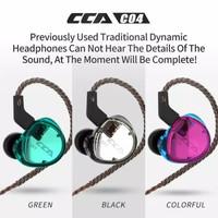 Headset Earphone Handset CCA C04 Dual Driver- BA + DD - Hybrid IEM
