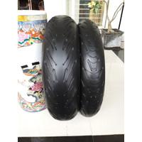 ban michelin pilot road 5 120-70 160-60 not pirelli supercorsa battlax