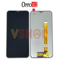 LCD TOUCHSCREEN OPPO A12 - CPH2083 CPH2077 LCD TS FULLSET - Hitam