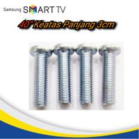 Baut bracket LED TV Samsung 40,49,50,60