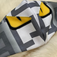 Masker Kain Fendi Premium masker cotton branded LV BAPE KENZO