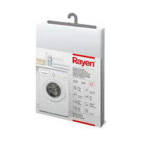 Rayen Cover Mesin Cuci Front Loading - Putih
