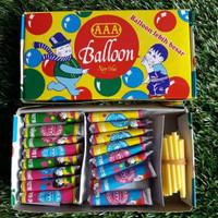 Balon Tiup AAA Balon Jadul Mainan Anak