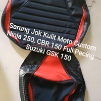Sarung Kulit Jok Motor Ninja 250 CBR 150 Suzuki GSK 150