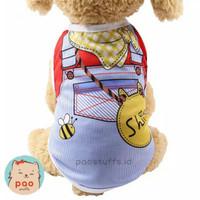 bee sh. tshirt baju fashion pakaian anjing kucing murah. dog cat cloth