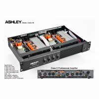 Power ASHLEY 4 Channel Professional Audio Original