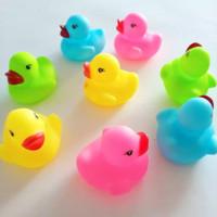 Mainan Bayi Mandi Bebek Karet Bath Tub Baby Toys Ncit2an Bebek Isi 8