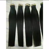 Rambut sambung Extansion Super 60_65cm 100helai