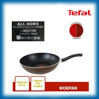 WOK PAN 28 cm TEFAL Day By Day (INDUCTION HEATING)