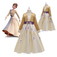 Anna dress. Kostum costume frozen 2 anak baju princess gaun