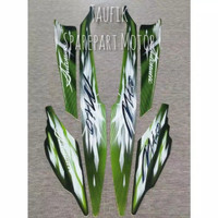 Striping Body Yamaha Mio Sporty warna hijau
