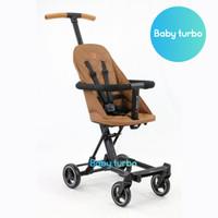 Baby Stroller Baby Elle Rider LT Convertible BS-1689 - Brown