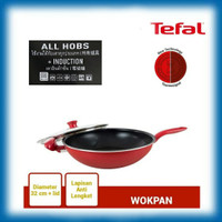 WOK PAN 32 cm + Lid TEFAL SO CHEF ( INDUCTION HEATING)