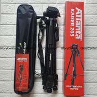 Tripod ATTANTA KAISER 203 for Kamera Dlsr Mirrorless Profesional Video