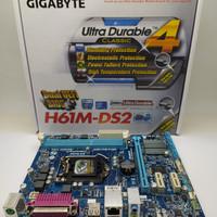 mainboard Gigabyte H61M-DS2 NEW GARANSI 3 TAHUN TUKAR BARU