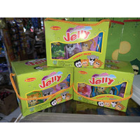 jelly gummy bean youka permen ranjani box isi 30 sachet