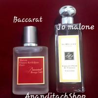 Parfum Baccarat / Parfum Jo Malone / Parfum Refill