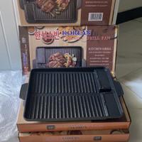 BBQ grill pan (oil free korean yakiniku grill pan)