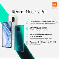 xiaomi redmi note 9 pro 8/128 ram 8gb 128gb garansi resmi