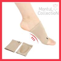INSOLES kain silikon Arch Flat foot Cushion kaki Datar Insole feet