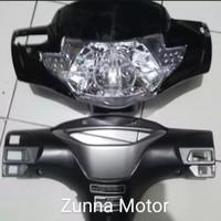 Batok lampu depan belakang set Honda Supra x 125 lama