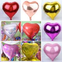 Balon Foil Love size 45cm balon hati merah pink gold silver biru cinta