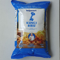 [satuan] Tepung Terigu KUNCI BIRU Premium 1 Kilo/1Kg/1 Kg