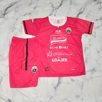 Jersey kaos baju bola setelan anak Persij-a red print